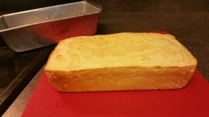 Loaf of keto Soul Bread, fresh out of the oven; low-carb; grain-free; gluten-free