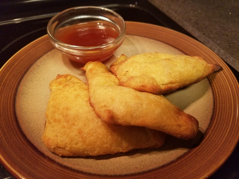 Keto Low-carb cream cheese crab wontons or rangoons