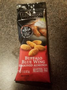 Legendary Foods, Buffalo Blue Wing Season Almonds