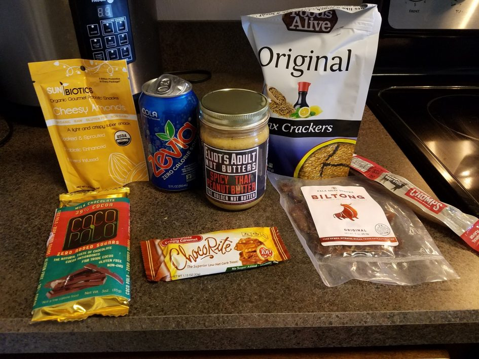 November Keto Krate Monthly Subscription Box