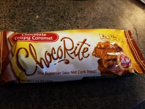 ChocoRite Chocolate Crispy Caramel Bar