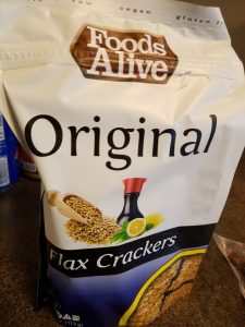 Foods Alive Original Flax Crackers