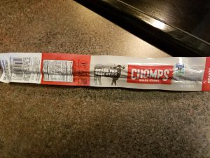 Chomps Snack Sticks - Grassfed beef stick, original flavor