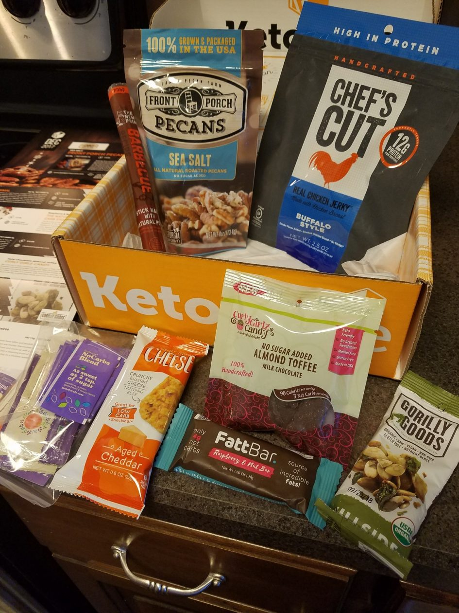 December Keto Krate, Monthly Subscription Box