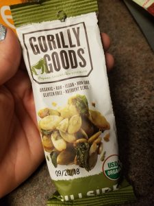 Gorilly Goods Hillside Pumpkin Seed & Kale Snack Mix