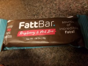 FattBar, Raspberry & Nut Bar