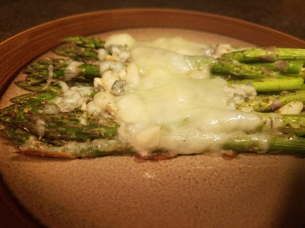 3-Cheese Asparagus; Keto/Low Carb