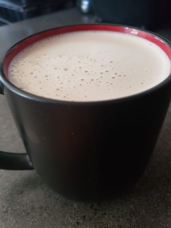 keto hot chocolate, ketoplates.com, LCHF, Sugar-free