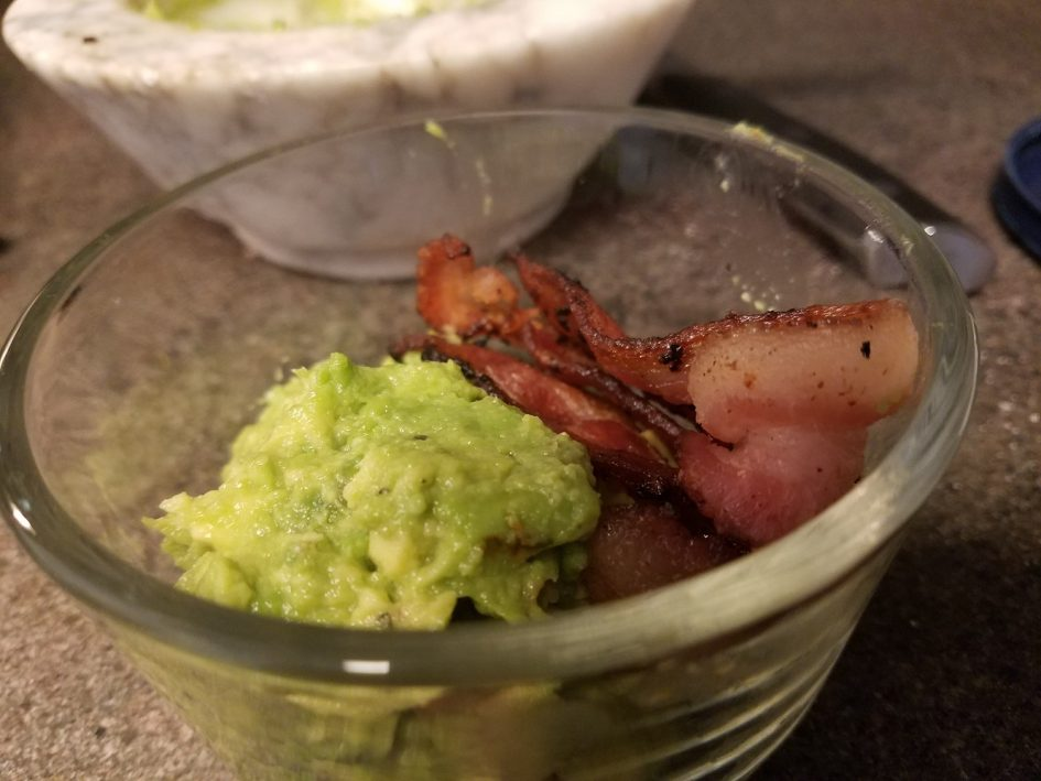 Keto Bacon and Avocado Guacamole
